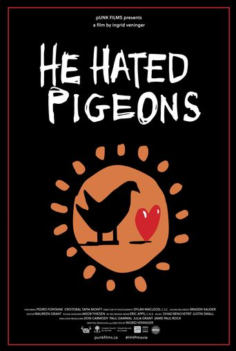 He Hated Pigeons Poster