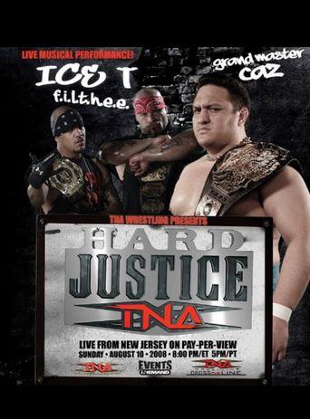 TNA Hard Justice 2008 Poster
