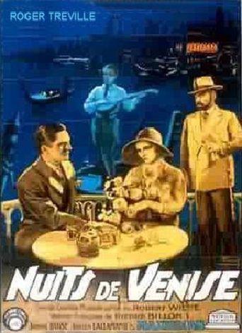 Nuits de Venise Poster