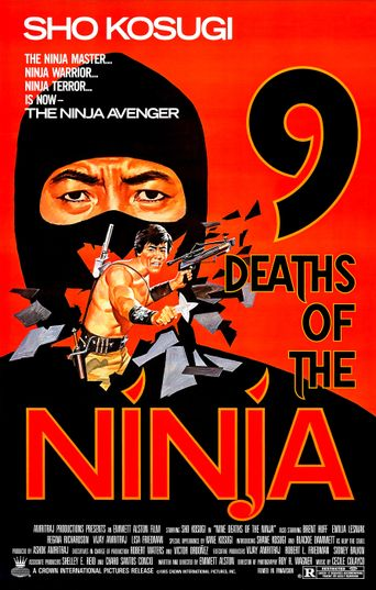 9 Deaths of the Ninja Poster