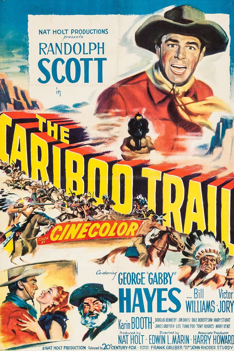 The Cariboo Trail Poster