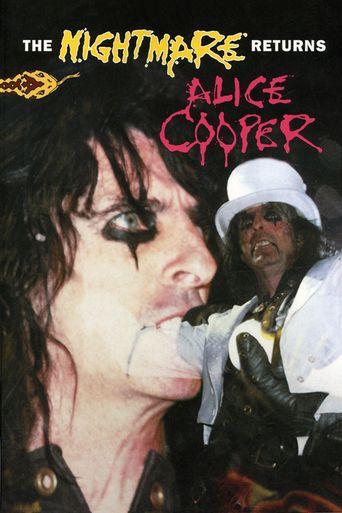 Alice Cooper: The Nightmare Returns Poster