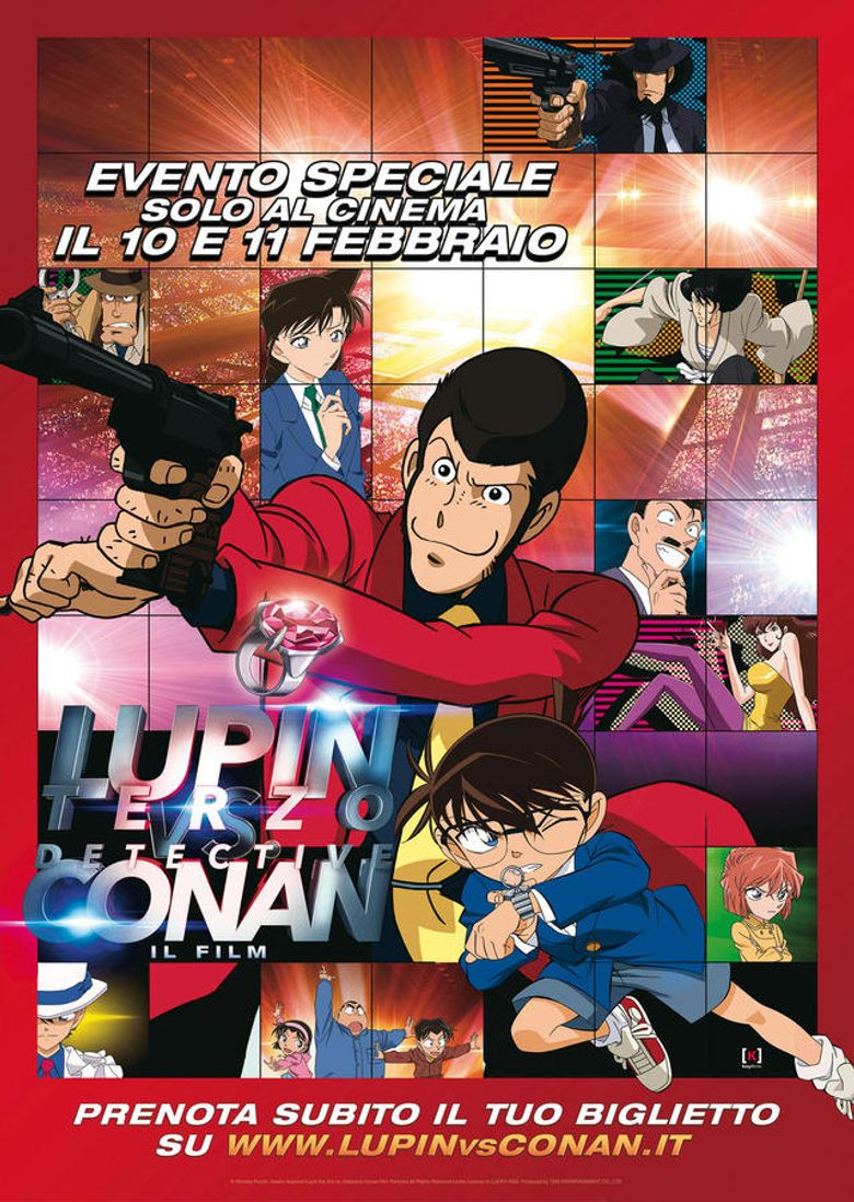 Lupin the Third vs. Detective Conan: The Movie Poster