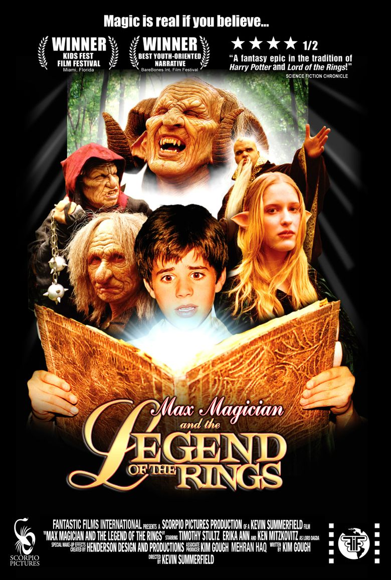 Max Magician and the Legend of the Rings Poster