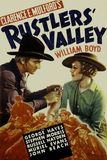 Rustlers' Valley Poster