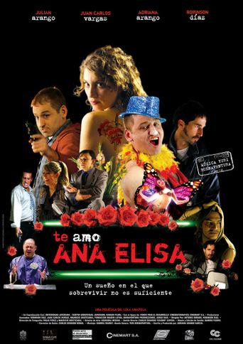 Te Amo Ana Elisa Poster