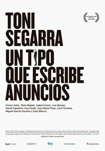 Toni Segarra: The Ads Writer Poster