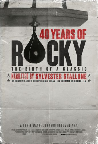 40 Years of Rocky: The Birth of a Classic Poster
