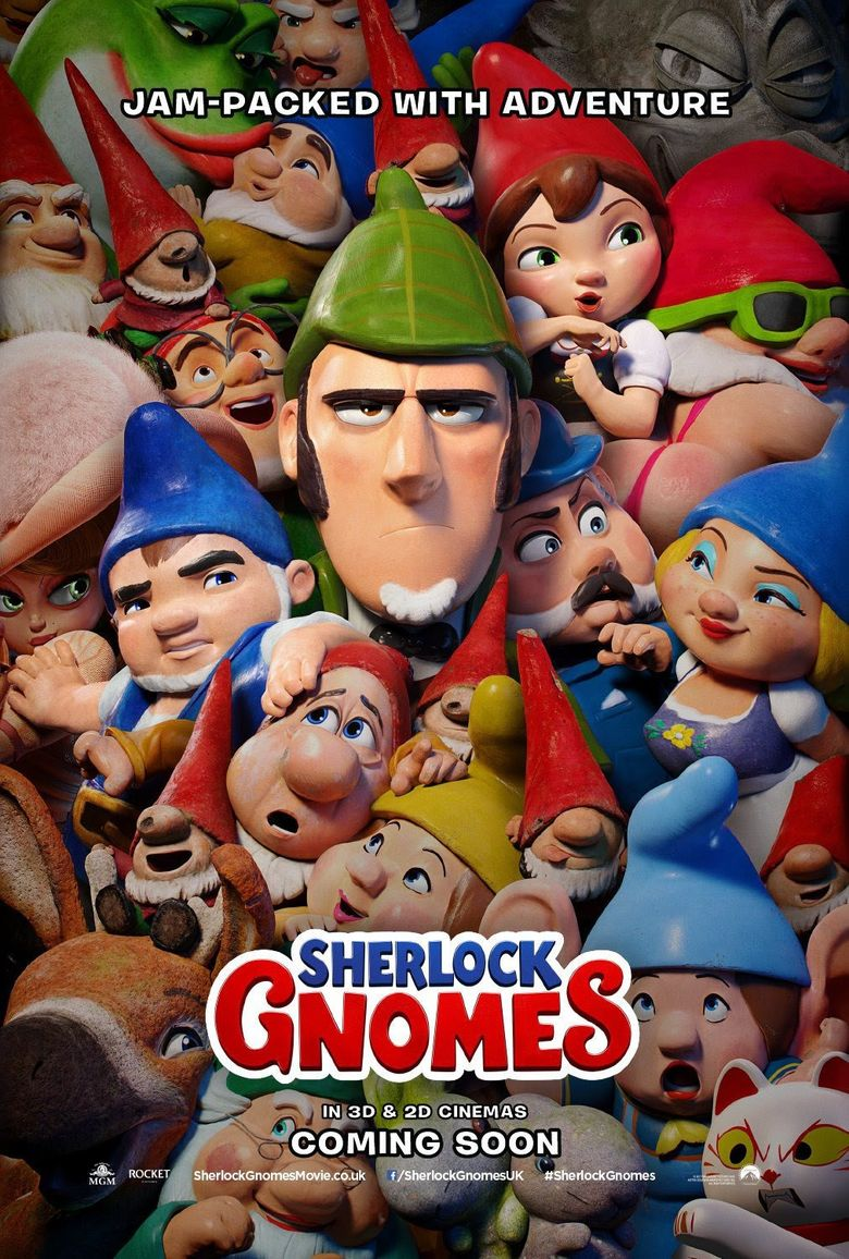 Sherlock Gnomes (2018) - Watch on Prime Video, Hulu, and Streaming ...