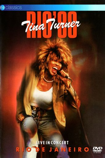 Tina Turner: Rio '88 - Live In Concert Poster