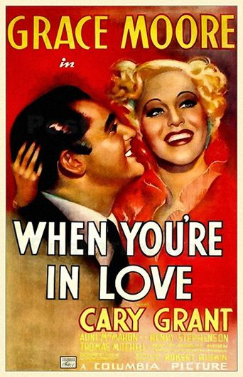When You're in Love Poster