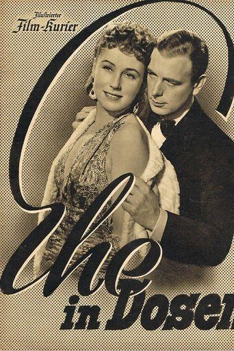 Ehe in Dosen Poster