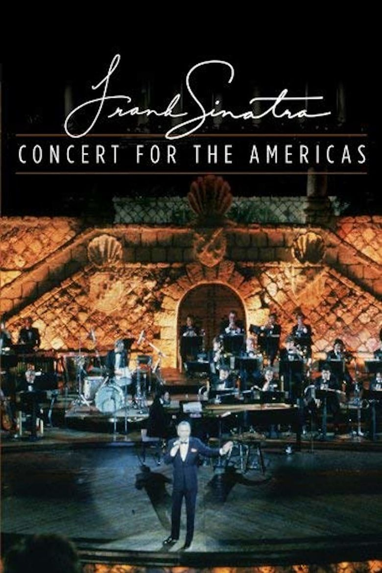 Frank Sinatra - Concert for the Americas Poster