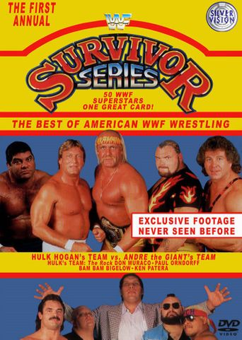 WWE Survivor Series 1987 Poster