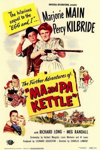 Ma and Pa Kettle in The Further Adventures of Ma and Pa Kettle Poster
