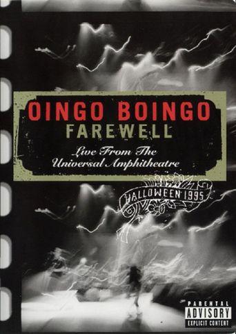 Oingo Boingo: Farewell (Live from the Universal Amphitheatre) Poster