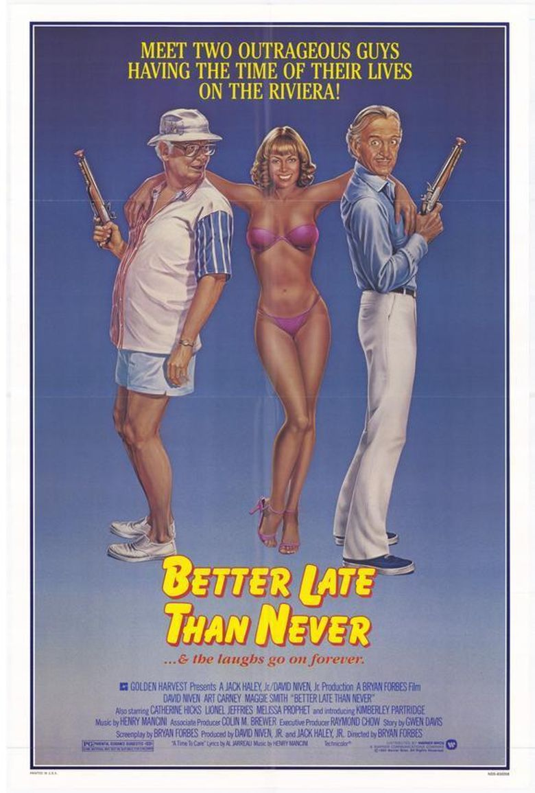 Better Late Than Never Poster
