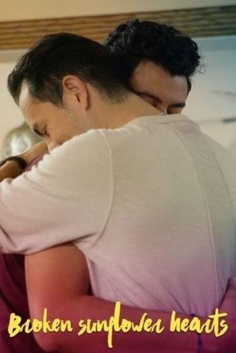 Broken Sunflower Hearts Poster