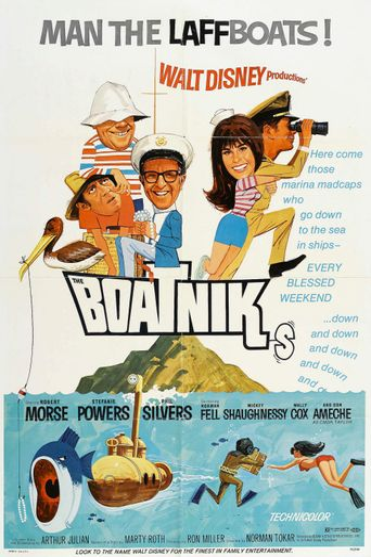 The Boatniks Poster