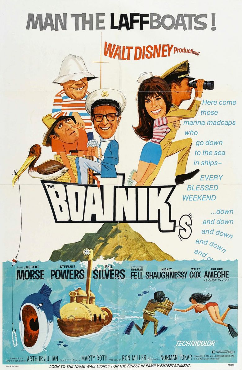 The Boatniks Poster