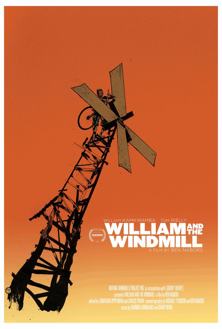 William and the Windmill Poster
