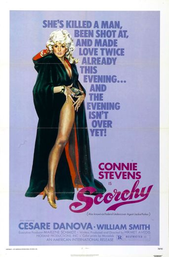 Scorchy Poster
