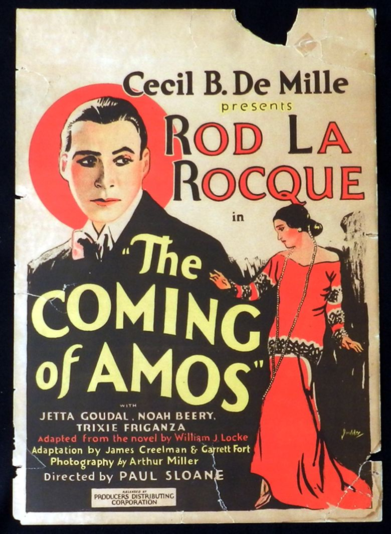 The Coming of Amos Poster
