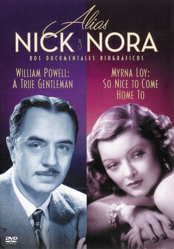 William Powell: A True Gentleman Poster