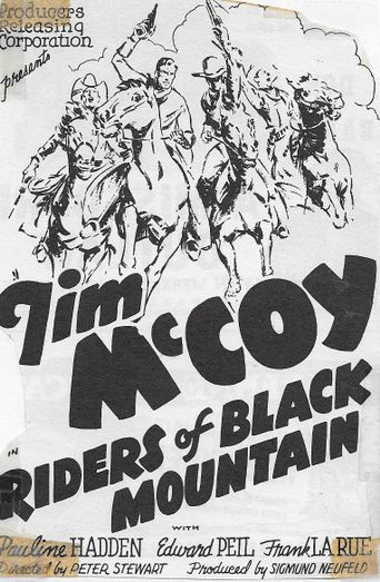 Riders of Black Mountain Poster