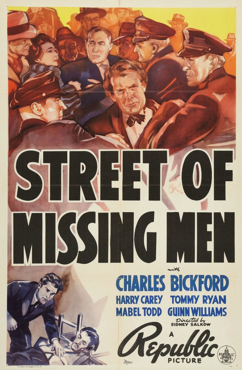 Street of Missing Men Poster