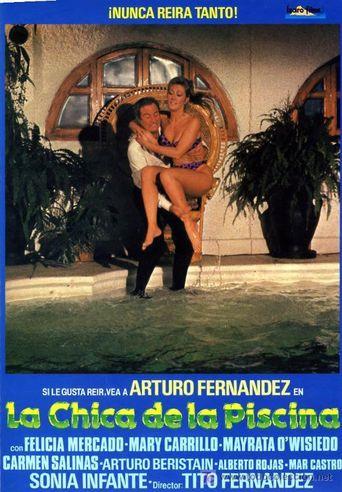 La chica de la piscina Poster