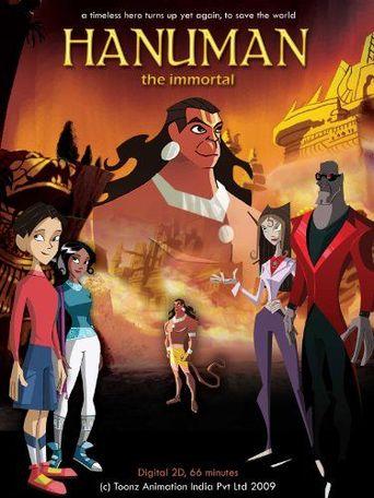 Hanuman the Immortal Poster