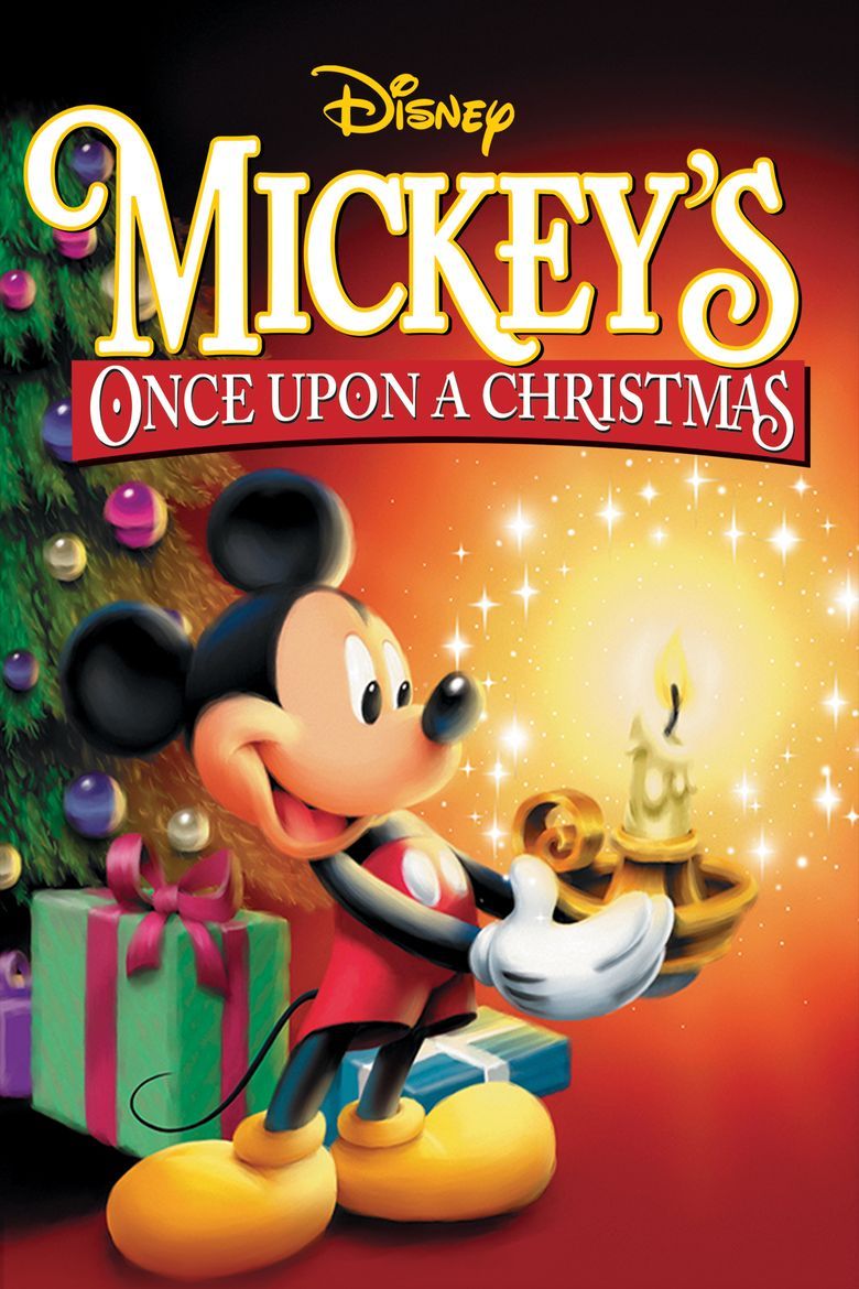 Mickey's Once Upon a Christmas Poster