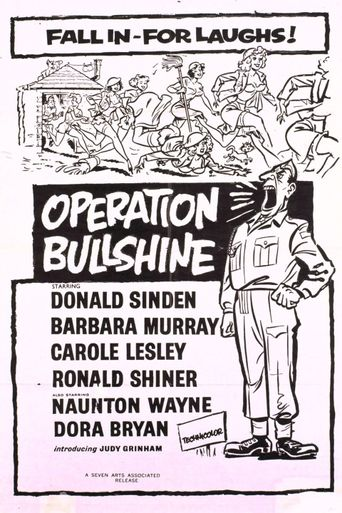 Operation Bullshine Poster
