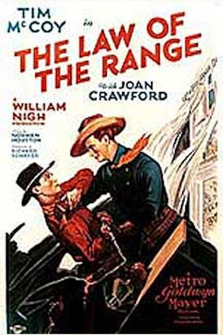 The Law of the Range Poster