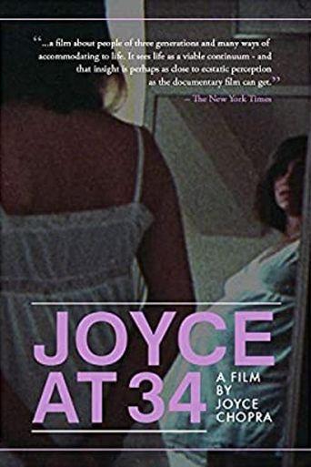 Joyce at 34 Poster