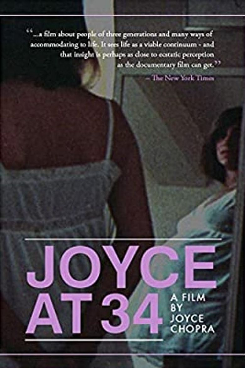 Joyce at 34 Poster