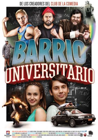 Barrio Universitario Poster