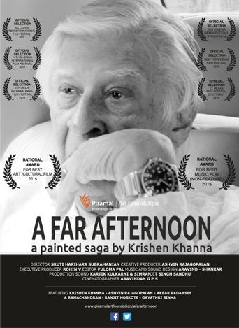 A Far Afternoon: a Painted Saga by Krishen Khanna Poster