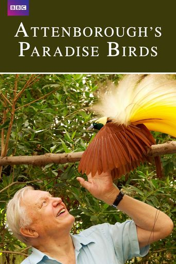 Attenborough's Paradise Birds Poster
