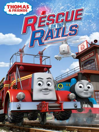 Thomas & Friends: Rescue on the Rails Poster