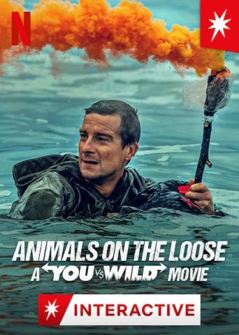 Animals on the Loose: A You vs. Wild Movie Poster