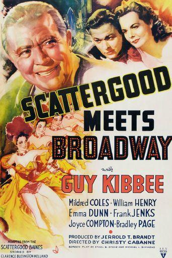 Scattergood Meets Broadway Poster