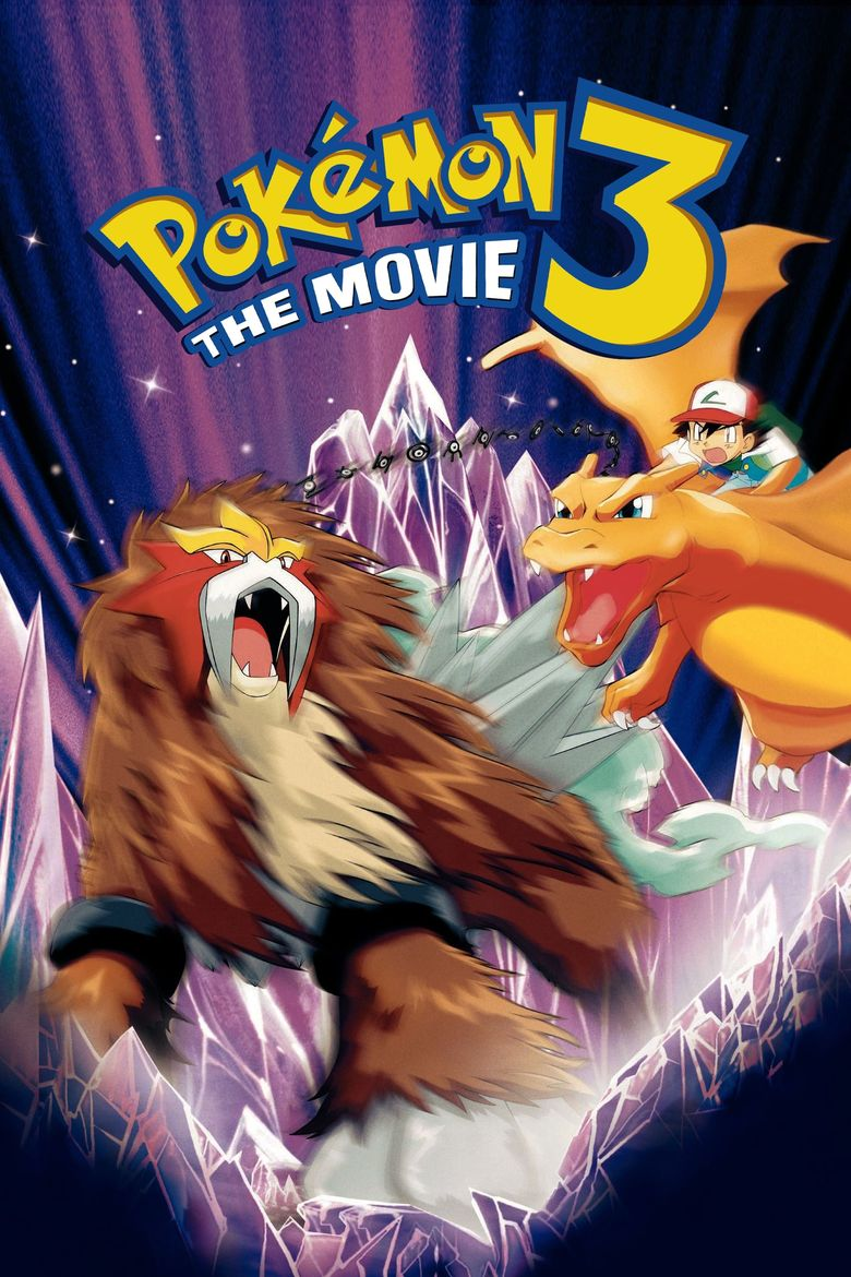 Pokémon 3: The Movie - Spell of the Unown Poster