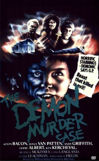The Demon Murder Case Poster