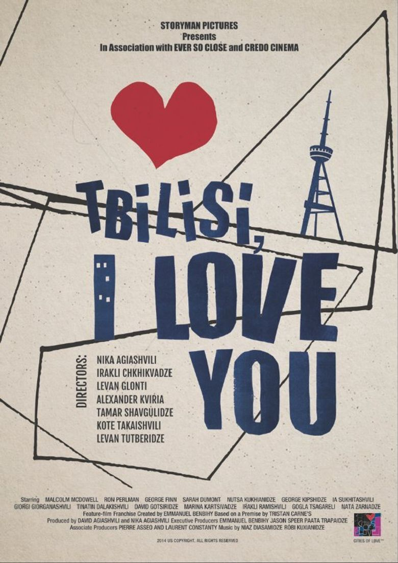 Tbilisi, I Love You Poster