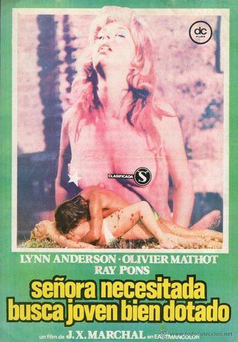 Señora necesitada busca joven bien dotado Poster