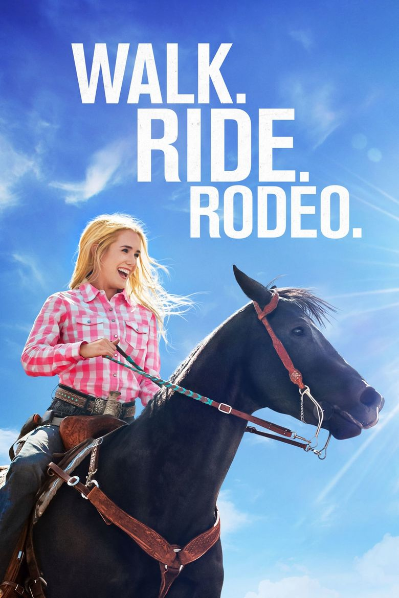 Walk. Ride. Rodeo. Poster