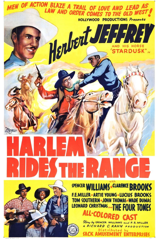 Harlem Rides the Range Poster