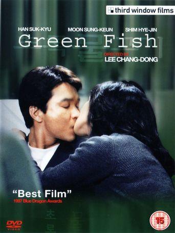 Green Fish Poster